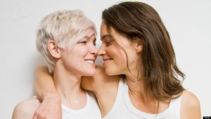 A lesbian couple