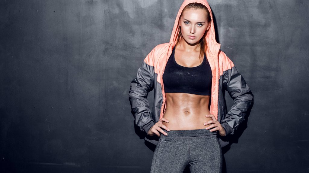 Fitness Woman From Heaven